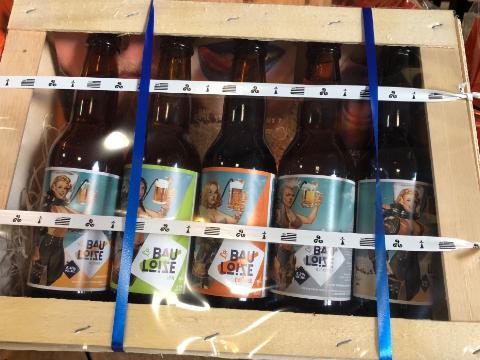Bourriche de bières La Bauloise
