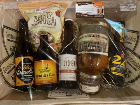 Bourriche Bières + Terrine