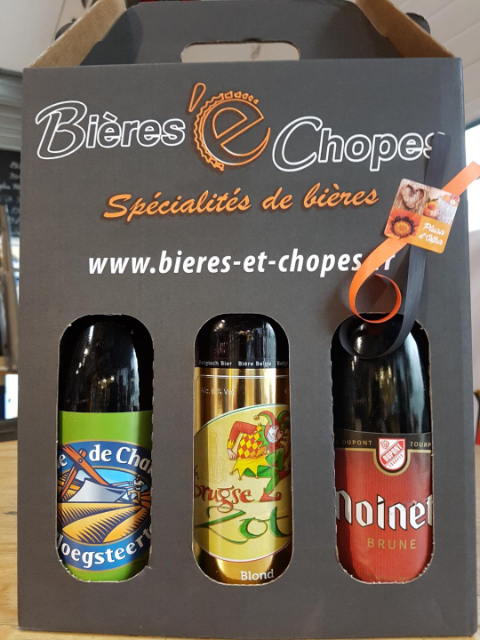 Coffret Sélection 3 bières75cl
