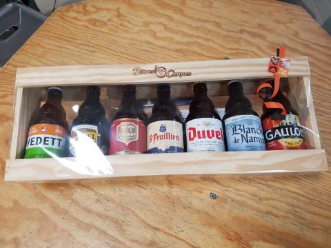 Demi-mètre de bières