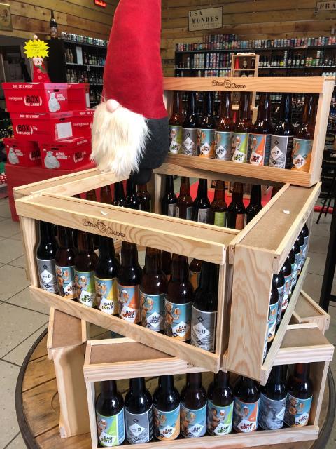 Demi-mètre de bières La Bauloise & Série B