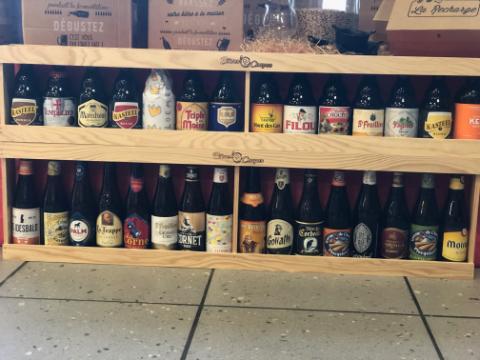 Mètre de bières Belges