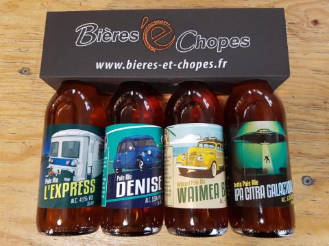 Pack 4 bières33cl